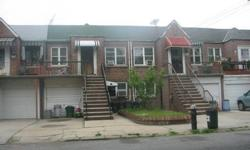 2-Family brick house for sale in prime Sheepshead Bay location; 2-bedroom over 1-bedroom over full finished basement with separate entrance, absolutely move in condition backyard, garage, private driveway. This house could be sold as a package deal with