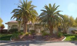 JUST SOLD-Beautiful one-story in privately gated community of only 9 homes. Backs up to beautiful park. Gated courtyard w/stamped concrete entry and fountains. Open floor plan, marble floors, plantation shutters & 6 in base boards throughout. Formal