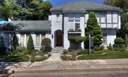 2012 HAYWARD HISTORICAL SOCIETY AWARD! OLD WORLD CHARM ABOUNDS IN THIS REVIAL TUDOR! ANTIQUE LIGHTS & CUSTOM DRAPES THROUGHOUT. GLEAMING HARDWOOD FLOORS.OVERSIZED LIVING ROOM W/ROCK FIREPLACE. GRACIOUS FORMAL DINING ROOM.PLUS A BREAKFAST NOOK WITH