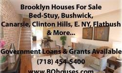 Call 718-454-5400 for more Info! ____ Over 80 More homes available in Brooklyn.BUILDING SIZE