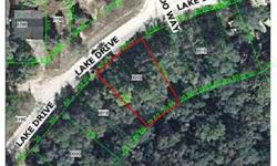 Bank Owned lot on Moon Lake Estates. Level lot measures approximatly 84' on Roadfront by approximately 110' deep; Back of lot is approximately 60'. Lot is fully treed. A portion of this lot may be in a flood zone. Buyer to verify all information. Listing