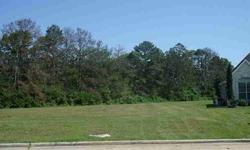 Great oversized homesite. Level and clear, across the street from the park near the back entry. Tall trees along the back property line backing to vacant ranch land. Social membership included. Masters golf membership available with transfer fee. 1800