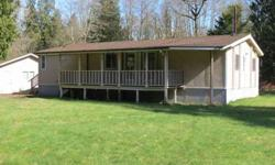 Hud home! Great manufactured home set on almost an acre parcel in concrete. Ben Kinney is showing 7489 N Central CT in Concrete which has 3 bedrooms / 2 bathroom and is available for $70000.00. Call us at (360) 738-7070 to arrange a viewing.