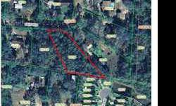 Large 1 acre homesite off of nine mi. Road and close to shopping, reataurants, medical facilities, & the university of west florida.
