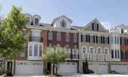Luxury brick townhome well located inside the beltway minutes to the Upcoming Silver Line METRO & 14 miles to The White House. Tasteful, neutral upgrades, beautiful hardwoods, curved staircase, gourmet kitchen w/ island & gas cooking. Owner's Suite w/ 2