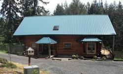 Custom 3436 square ft log home on over 56 acres. Private lake, large shop, 3 master bedrooms. Care taker manufactured home. Log house has great room, three bedrooms, 3 bathrooms. 2 barns - 110x40 with loft, and 30x40. WestOne Properties Group is showing