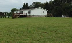 180 Big DipperBrandenburg, KY 40108Meade CountyOnly $77,500Quiet Street!28x52 Home & Beautiful2.25 Acres3 Bedroom 2 Bath1456 Square FeetCentral AirElectric HeatHuge DecksVinyl Siding & Shingle RoofWell Water & SepticStorage Building withUnderground