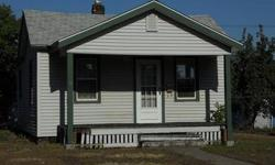 Cute Starter or Rental. Vinyl Siding & Windows, Newer Roof, All Appliances, 2 bdrm, 1 bath, kitchen with eating area and hutch, oversized 1 car garage with alley accessListing originally posted at http