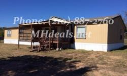 An immaculate 4 bedroom 2 bathroom double wide home on .48 acres of land for cheap. 2,432 square feet (32 x 76), give this home many amazing features. To start off this home is in a great location just minutes from town. It is a great starter or first