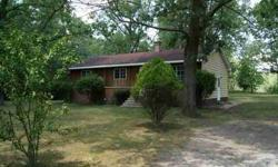 3 BEDROOM 1 FULL BATH RANCH OVER FULL BASEMENT WITH LIVING ROOM, KITCHEN, DINING ROOM, UPDATED FURNACE, FRESH PAINT AND FLOORING THROUGHOUT, ALL SITTING ON 4.84 ACRES WITH HOME SITTING IN NICE SHADED LOCATION ON PROPERTY!Listing originally posted at http