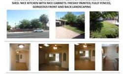 REAL ESTATE INVESTMENT IN LAS VEGAS BUY A HOUSE TODAY!! GREAT PURCHASE FOR OWNER OCCUPIED OR INVESTOR. RECENTLY REHAB. NICE CURB D'APPEAL, HUGE LOT WITH PLENTY OPPORTUNITIES. STORAGE SHED. NICE KITCHEN WITH NICE CABINETS. FRESHLY PAINTED, FULLY FENCED,