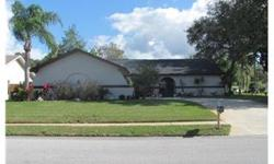 Located on a large corner lot is this beautiful custom built home.. Home features 3 bedroom split plan, dual sinks in the master bath and walk-in closet in the master bedroom. Newer kitchen with corian counter tops, solid wood cabinets and stainless steel