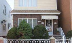 2 FAMILY IN EXCELLENT CONDITION. 3 BEDROOMS OVER 2 BEDROOMS. NEW WINDOWS, NEW CEMENT, HARDWOOD FLOORING, NEW HEAT AND HOT WATER (5 YEARS) LOT SIZE 26X100. BUILDING SIZE 1,800. ESTIMATED YEARLY TAXES $ 1,784. OFFICE EXCLUSIVE REF# CF819 ASKING