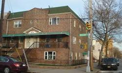 Legal 2 family Brick with walk in apartment, ideal for a Dr. Office, Plumbing and Electric was updated in the entire house. Hardwood Floors, renovated Kitchens, and Bathrooms. Close to express bus, Golf Course and Dyker Park. Listing originally posted at