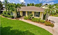 A beautifully renovated single family home is set on a private lot in one of Naples most popular communities, The Moorings. This lovely residence offers over 3,300 square feet of living space and boasts an open floor plan offering 5 bedrooms plus den, 3