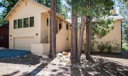 Wonderful location, backs to Forest Service lot and year round creek. This house has two large decks for entertaining. The great room has high beamed ceilings with kitchen, dining area and living room all together. Two masters too!Listing originally