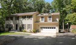 Spacious and open 6BR 4.5BA 3 level colonial including newly added au pair suite tucked away in secluded wooded setting just 2 miles from the Historic Town of Clifton! Hardwood floors, stainless steel appliances, granite counters. Well maintained - new