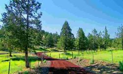 New beginnings at the end of the road with this picturesque & private 105 Acre Ranch. Hidden Creek Ranch has amazing views that include rock outcroppings and Cascade Mountain all with an old west flavor. Seasonal stream flows through the property. 31.8