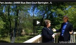 Pam Jacobs of RE/MAX in Barrington shows us a wonderful, charming home lying on 2 acres of an inviting yet secluded culdesac. It has an enormous back deck, covering the entire base of the home and going in to the yard which overlooks Grassy Lake fen.