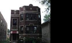 """Move in ready Chicago Brick 2 flat that features (6) bedrooms with a detached 2 car garage and side drive. This is not a Foreclosure or a Short Sale! Good rental area. Preapproved buyers only! Property being sold """"as-is"""".Listing originally posted at http"""