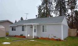 Great Central Location! This 2 bedroom, 1 bath Spokane Valley Home is on 15th and University where it is close to shopping and schools and near to a bus route for safe and easy travel! Newly added kitchen is large and open to the rest of the home,