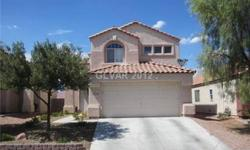 2STORY home in North Las Vegas!! Features 3 sizable bedrooms, 2.5 baths, 2 car garage. Affordable!! Spacious home, vaulted ceiling in living room, separate famroom. Laminate counters and pantry in kitchen. Master bed upstairs with walk-in closet, bath