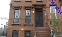 2 FAMILY BROWN STONE TOWN HOUSE FOR SALE IN BEDSTUY, GUT RENOVATED WITH GORGEOUS DESIGNS, CENTRAL HEAT AND AIR. THIS HOME FEATURES A 3 BEDROOM DUPLEX WITH 2.5 BATHROOMS, LOVELY PORCH, MODERN KITCHEN WITH ALL STAINLESS STEEL APPLIANCES, LAUNDRY ROOM,