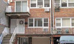 One of the kind in Midwood, 3 story large solid brick split-level house built in 1970. Approximately 3,300 sf . Well maintained in very good condition. Upstairs apartment 3-bedroom duplex , 2 bath, with balcony. Second floor apartment owner enjoys 3