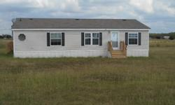 Mobile Home For Sale- 3.5 acres3 bedroom/ 2 bath, 1456 sq. ft., NEW APPLIANCESProperty is in Caddo Mills, TX
