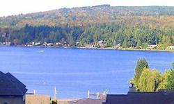Lake Whatcom view property! 5 minute walk from the the public lake access. Enjoy water and privacy with this secluded lot, surrounded by beautiful homes to enhance ambiance of environment. Perfect for building a comfortable home or a summer