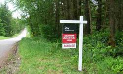 Prime location to build your, dream home! Nicely forested (shy five acres) on a corner lot.