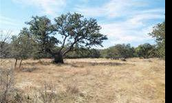 This exceptional 5.5 acre parcel is ready for your dream home on horse friendly ground with ag exempt taxes. The property has many nice oaks and elms as well as a seasonal creek/drainage system that offers interest in the varied habitat. There is nice
