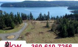 Rare 16+ oceanfront acres with 180 amazing views of skagit bay, cascades, pass lake and mt.