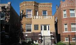 """Solid brick 2 flat. 1st Floor Apartment duplex to basement with 2 extra bedrooms, family room and full bath. Recent updates and repairs was done. Building is in good condition, FHA loan is welcome. Sold """"as-is"""". Short sale, please allow time for contract"""