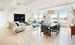 THE MOST BEAUTIFUL DUPLEX ON RIVERSIDE DRIVESpectacular 5-bedroom, 5-bath apartment with glorious river views, every amenity, and impeccable Roman and Williams design in a pre-War full-service building on the corner of Riverside Drive and West 84th