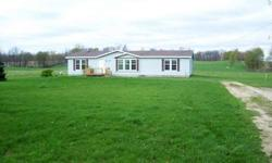 ONLINE REAL ESTATE AUCTION June 5, 2012 from 8 am - 2 pm at www.LASTBIDrealestate.com. Opening Bid only $5000. BANK OWNED home. This 3 bedroom, 2 bath manufactured home was built in 1997 and is situated on about 2.7 acres on a quiet country gravel road.