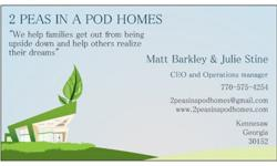 We buy houses, all sizes, shapes, and conditions. We're Cobb County's premier real estate buying company and can make you a cash offer for your house immediately! Give Matt a call at 770-575-4254