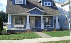 Light, Bright, Clean & Open Fireplace Home w/ upstairs Bonus room! Avail Now! 20 mins 2 Ft Lewis JBLM. Pets OK! New carpet downstairs. Gourmet kitchen w/ breakfast bar and newer appliances.Located in highly desirable Descutes River Highlands & 5 minutes