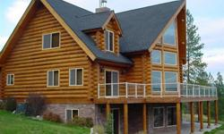 3 Level Log Cabin Home off Private Road and Mountain Top Beautiful 5 Large bedroom all with walk in closets 3 Bathroom 3 Car Garage Cabin Over looks Large Lake A Great Get-a-way Buy or Rent To Own Washer and Dryer RoomLuxury Fully furnished Flat Screens /