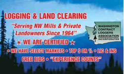 WANTED, TIMBER, LOGS, STANDING TREES. Alder, Hemlock, Cedar, Hardwood, Douglas Fir, Maple, Buying, on cash or percentage basis. We provide Free Estimate on value of your standing timber. CALL