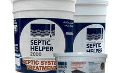 Miller Plante Septic Helper 2000 - 800-929-2722 - All natural septic system cleaner of bacteria. Miller Plante Septic Helper 2000 liquefies waste in septic systems, drain fields and cesspools.72 Monthly Treatments. Order Online for Free Shipping or Call