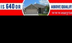 640 SCORE QUALIFIES FOR A TOTAL MOVE IN - $500NEW HOUSES - HOME FOR SALENEW HOMESask for Diego469-964-2811www.easytogethomes.com